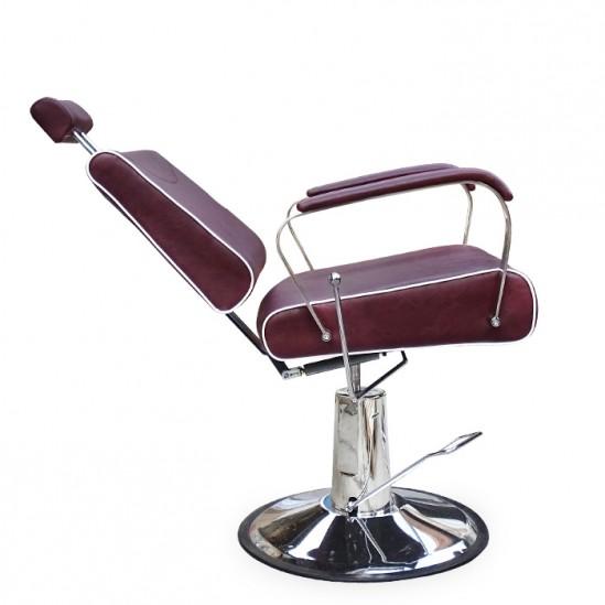 Κομψή καρέκλα κουρείου μοντέλο N220