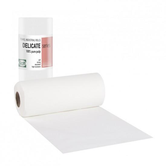 Πετσέτες δύο στρωμάτων χαρτιού σε ρολό Softcare