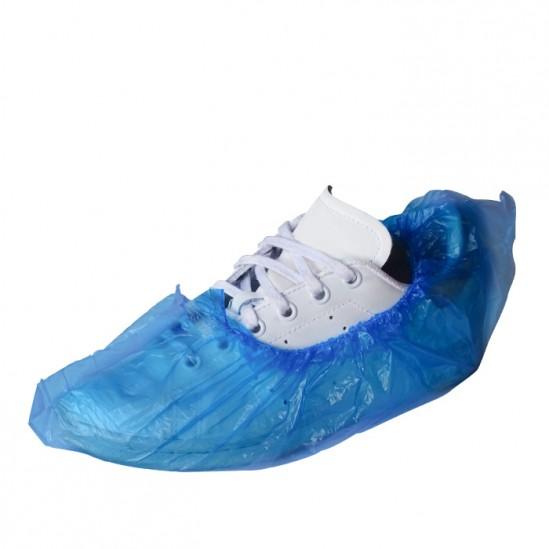 Κάλτσες μίας χρήσης πολυαιθυλενίου B102 - Μπλε