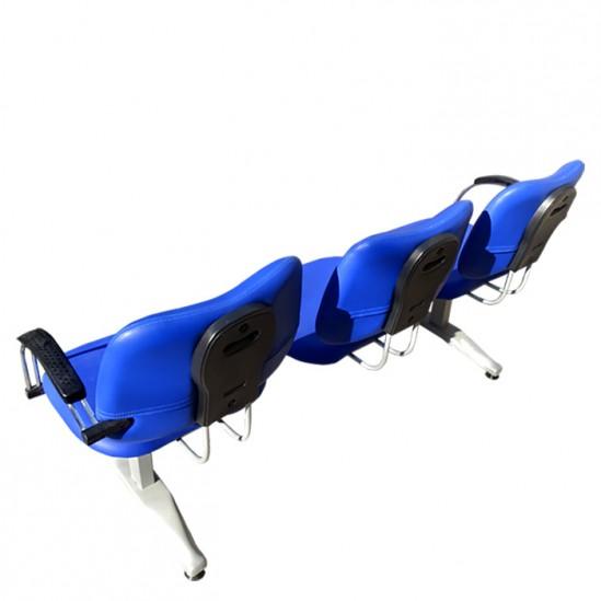 Λειτουργική τρίκλινη καρέκλα αναμονής μοντέλο D430