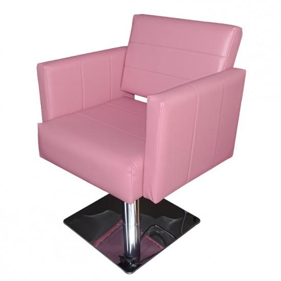 Καρέκλα κομμωτηρίου, M788 - ροζ