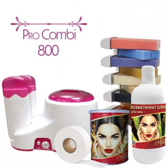 Σετ αποτρίχωσης με μάσκα αποτρίχωσης - PRO COMBI 800