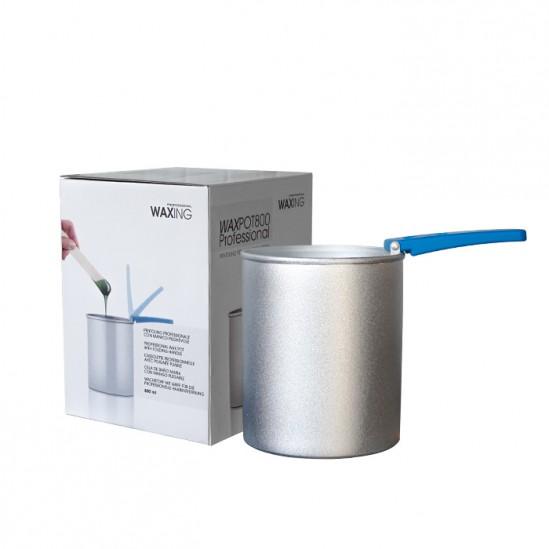 Ανθεκτικό στη θερμότητα δοχείο για τήξη μαργαριταριών και δίσκων WAXPOT800