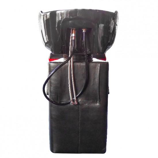 Επαγγελματικος λουτηρας κομμωτηριου μοντελο FO 22 - Μαύρο και κόκκινο