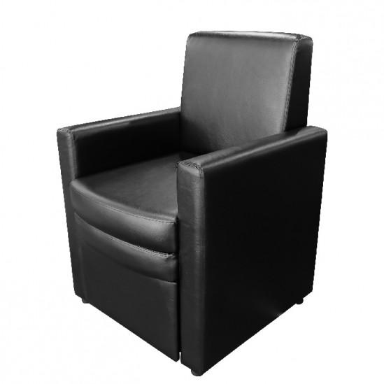 Καλλυντική καρέκλα για πεντικιούρ μοντέλο B9091 μαύρη