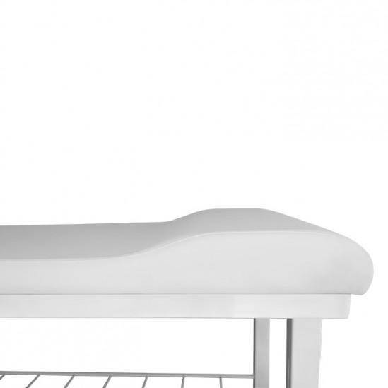 Σταθερό κρεβάτι για μασάζ και αισθητικές επεμβάσεις μοντέλο KL280 πλάτος 60 cm