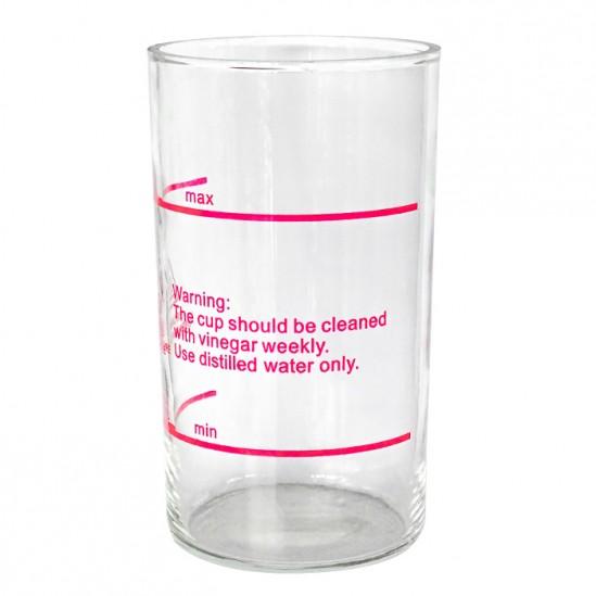Γυάλινο βάζο για οζονιστήρα ατμού - B322