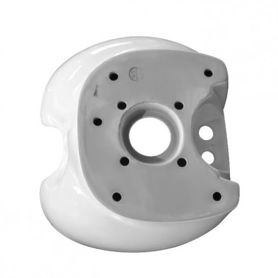 Νεροχύτης για λουτήρα κομμωτηρίου σε λευκό - DM1