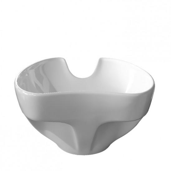 Νεροχύτης για λουτήρα κομμωτηρίου σε λευκό - DM2