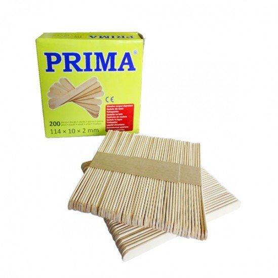 Ξύλινες σπάτουλες Prima για εφαρμογή μάσκας κεριού 200 τεμάχια