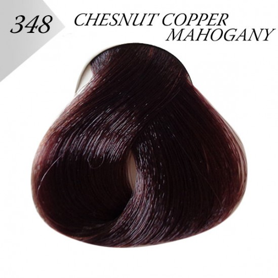 ΒΑΦΗ ΜΑΛΛΙΩΝ - CHESNTUT COPPER MAHOGANY, №348 - LONDESSA