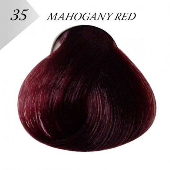 ΒΑΦΗ ΜΑΛΛΙΩΝ - MAHOGANY RED, №35 -LONDESSA